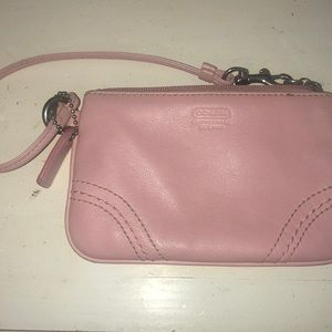 Coach baby pink wallet